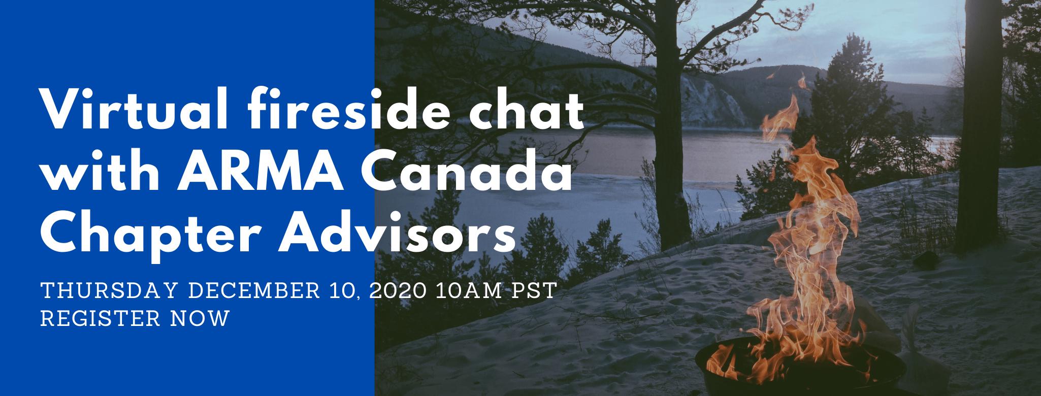 ARMA Canada Fireside Chat Dec 10 2020