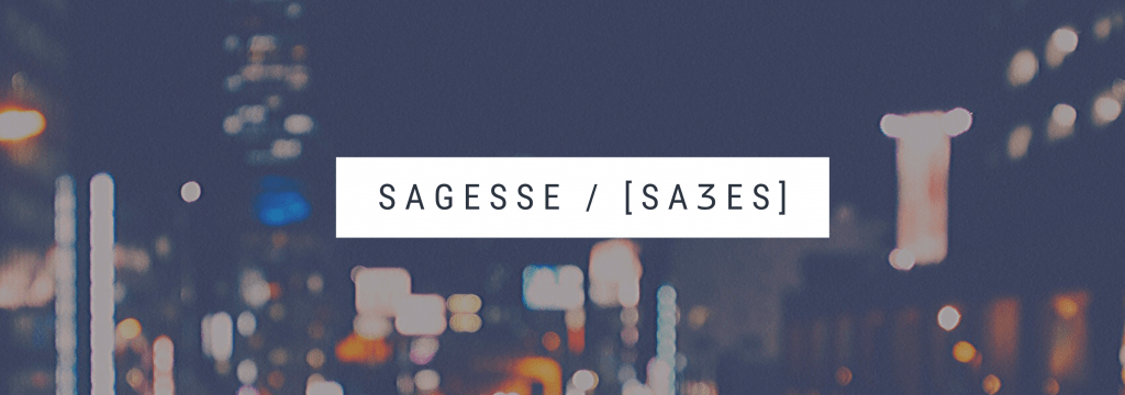 Sagesse Banner
